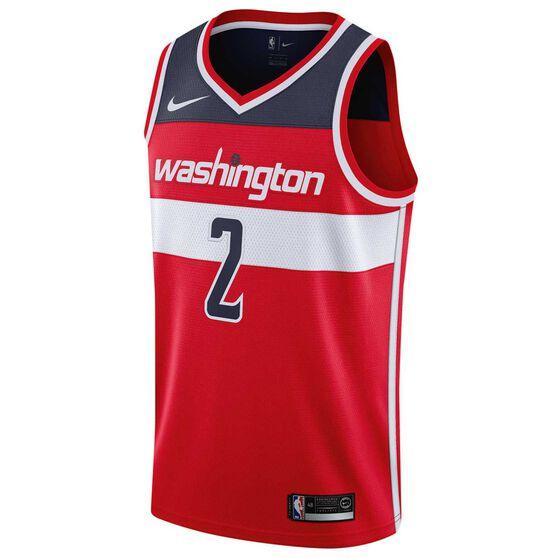 Nike Washington Wizards John Wall 2019 Mens Swingman Jersey, University Red, rebel_hi-res