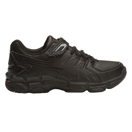 Asics Gel 540TR Leather Junior Cross Training Shoes, Black, rebel_hi-res