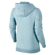 Nike Womens Sportswear Fleece Hoodie Topaz XS, Topaz, rebel_hi-res