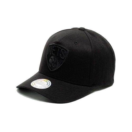 Brooklyn Nets All Black 110 Snapback Cap, , rebel_hi-res