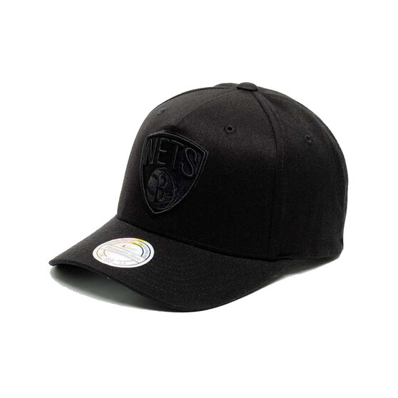 Brooklyn Nets All Black 110 Snapback, , rebel_hi-res