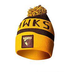 Hawthorn Hawks Bar Beanie OSFA, , rebel_hi-res