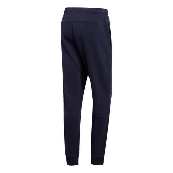 adidas Mens Essentials French Terry Tapered Track Pants Navy XXL, Navy, rebel_hi-res