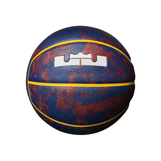 Nike LeBron Swoosh Mini Basketball Red / Blue / Yellow 3, , rebel_hi-res