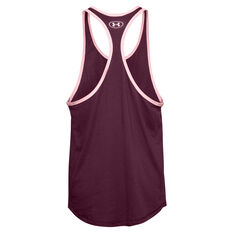 Under Armour Mens Project Rock Iron Paradise Tank Purple XS, Purple, rebel_hi-res