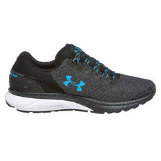 Under Armour Charged Escape 2 Mens Running Shoes Black / Blue US 7, Black / Blue, rebel_hi-res