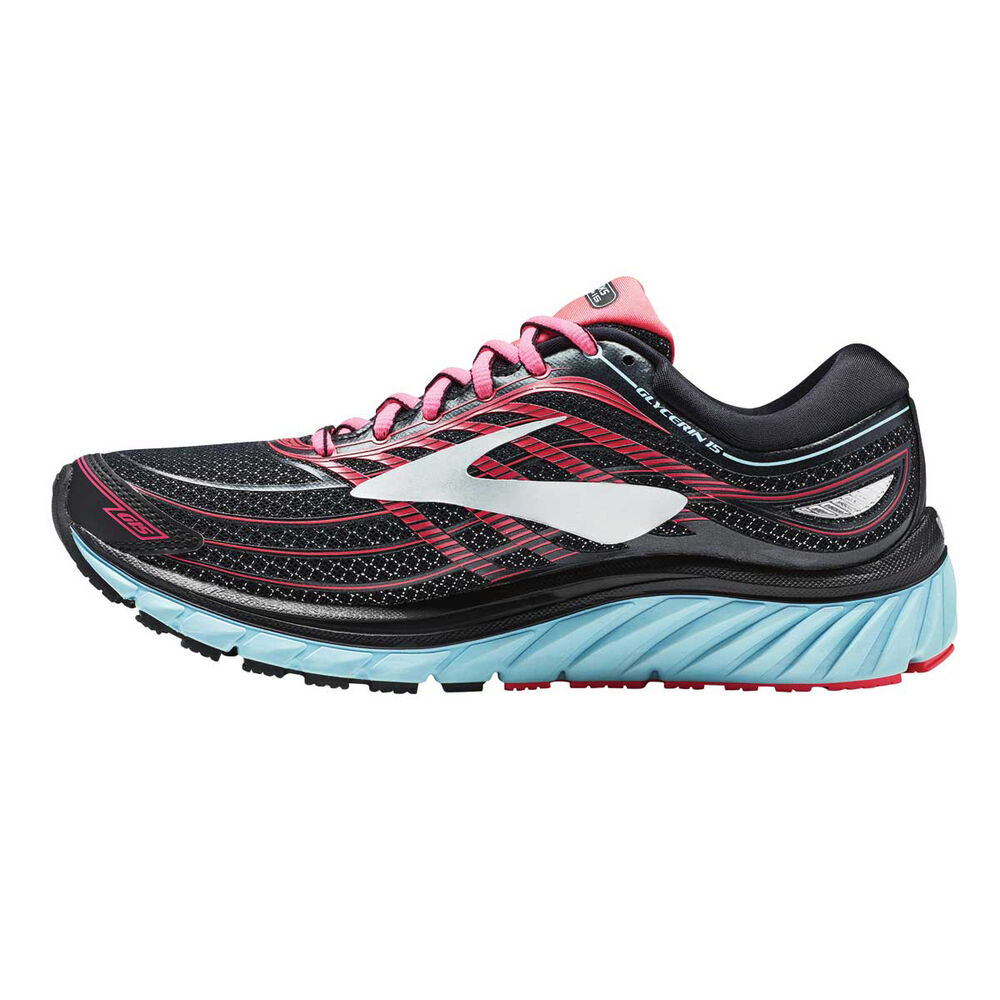 1d3604f88ed1f Brooks Glycerin 15 Womens Running Shoes Black   Pink US 6.5