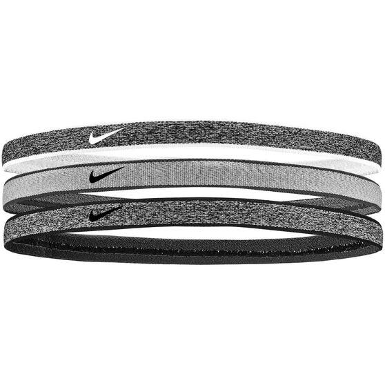 Nike Heathered Swoosh Sport 3 Pack Headbands, , rebel_hi-res
