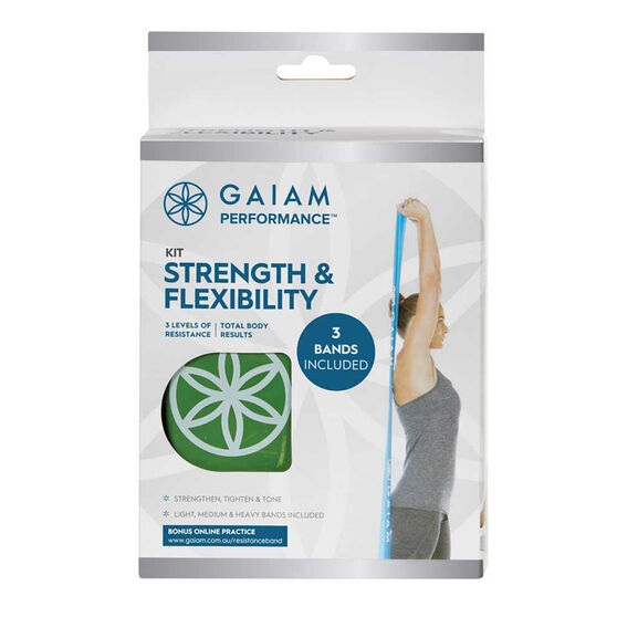 Gaiam Strength and Flexibility Kit, , rebel_hi-res