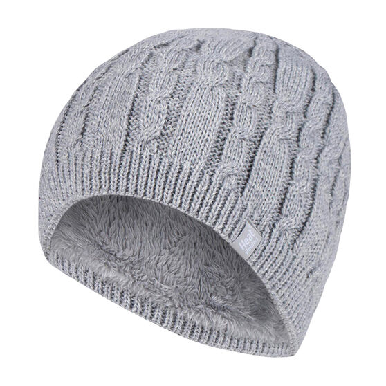 Heat Holders Womens Alesund Cable Knit Beanie, , rebel_hi-res