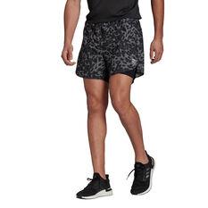 adidias Mens Primeblue Shorts Grey S, , rebel_hi-res
