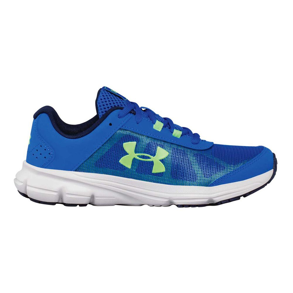 c18a2bb940 Under Armour Rave 2 Kids Running Shoes Royal / Green US 5
