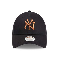 ... New York Yankees New Era 9FORTY Rose Gold Accent Cap c5ec9c119845