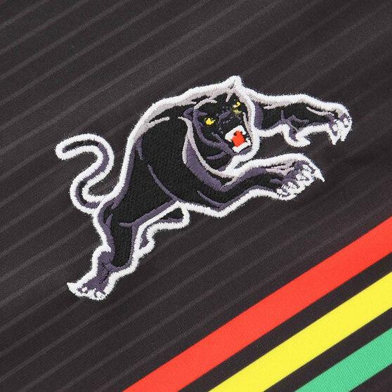 Penrith Panthers 2021 Mens Home Jersey, Black, rebel_hi-res