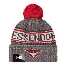 Essendon Bombers New Era 6 Dart Cuff Beanie, , rebel_hi-res