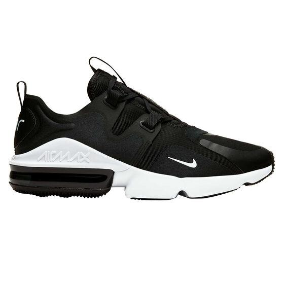 Nike Air Max Infinity Mens Casual Shoes, Black/White, rebel_hi-res