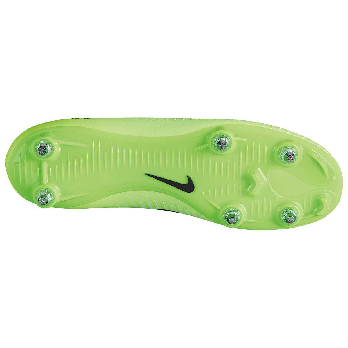 82967f08c75 order nike mercurial victory sg mens football boots green black us 7 adult  green 52508 5af40