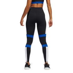adidas Womens Believe This 2.0 VRCT Tights, Black, rebel_hi-res