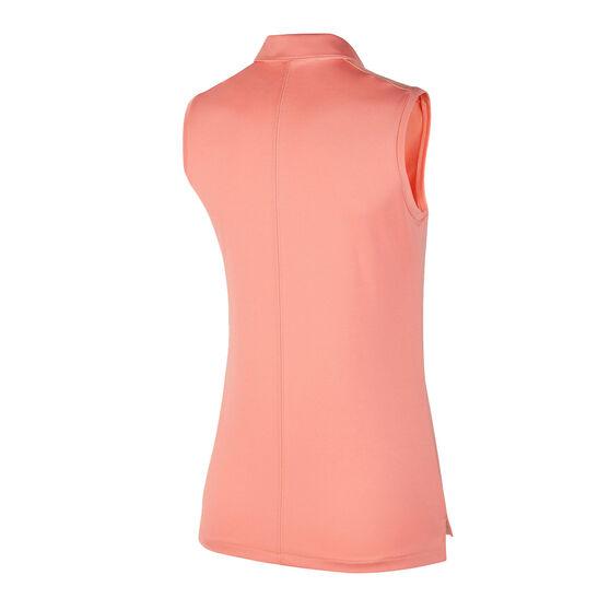 Nike Womens Dri FIT Golf Polo, Pink, rebel_hi-res