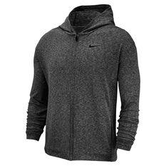 Nike Mens Dri-FIT Full Zip Training Hoodie Black S d6842bf2e