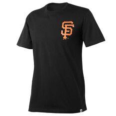 San Francisco Giants Mens Drimer Tee Black S, Black, rebel_hi-res