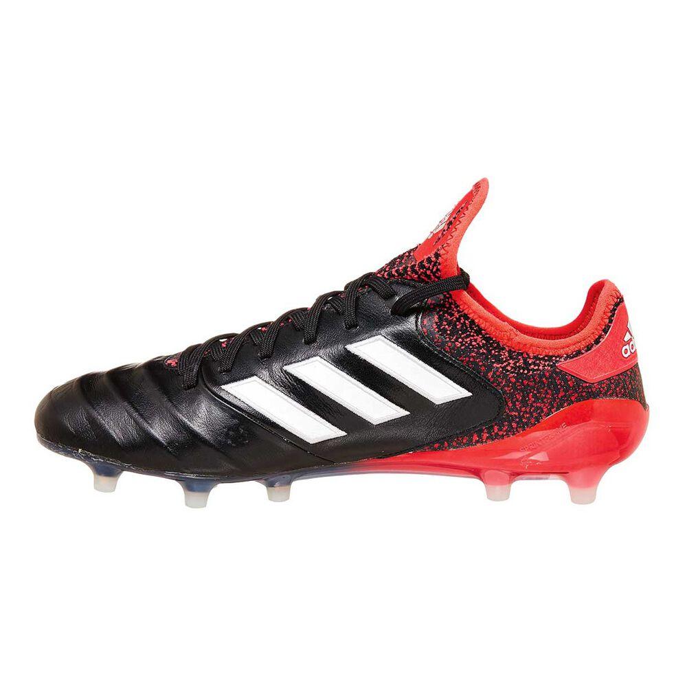 0b083aa79ba4 adidas Copa 18.1 FG Mens Football Boots Black   White US 8.5 Adult ...