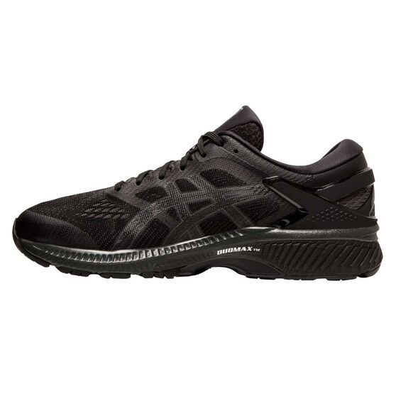 Asics GEL Kayano 26 Mens Running Shoes Black US 8, Black, rebel_hi-res