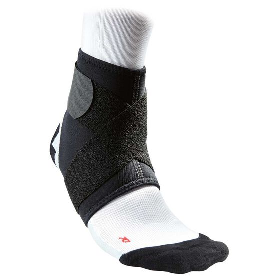 McDavid Ankle Support with Figure 8 Straps, Black, rebel_hi-res