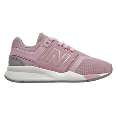 New Balance 247 v2 Kids Casual Shoes Pink / White US 11, Pink / White, rebel_hi-res