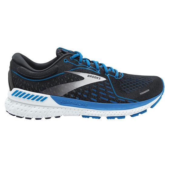 Brooks Adrenaline GTS 21 Mens Running Shoes, Navy/White, rebel_hi-res