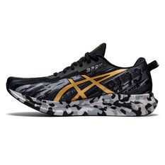 Asics GEL Noosa Tri 13 Mens Running Shoes Black/Gold US 8, Black/Gold, rebel_hi-res