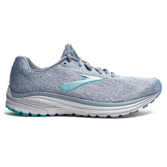 Brooks Anthem 2 Womens Running Shoes, Grey / Teal, rebel_hi-res