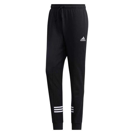 adidas Mens Essentials Comfort Track Pants, Black, rebel_hi-res
