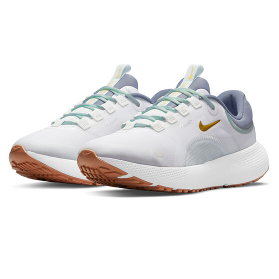 Nike React Escape Run Womens Running Shoes White/Red US 7, White/Red, rebel_hi-res