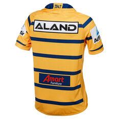Parramatta Eels 2019 Mens Away Jersey Yellow / Blue S, Yellow / Blue, rebel_hi-res