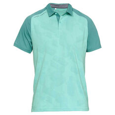 Under Armour Mens Tour Tips Champion Polo Green S, Green, rebel_hi-res