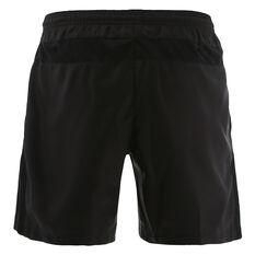 Penrith Panthers 2021 Mens Training Shorts Black S, Black, rebel_hi-res