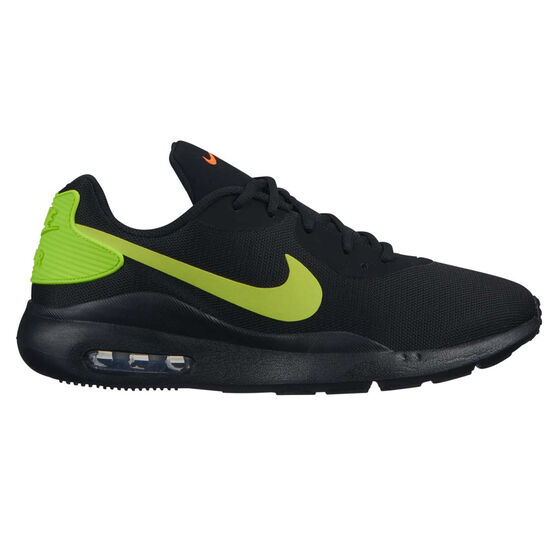 Nike Air Max Oketo Mens Casual Shoes, Black / Yellow, rebel_hi-res