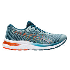 Asics GEL Cumulus 22 Kids Running Shoes Teal US 4, Teal, rebel_hi-res