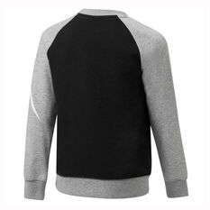 Nike Boys HBR French Terry Crew Black / Grey 4, Black / Grey, rebel_hi-res