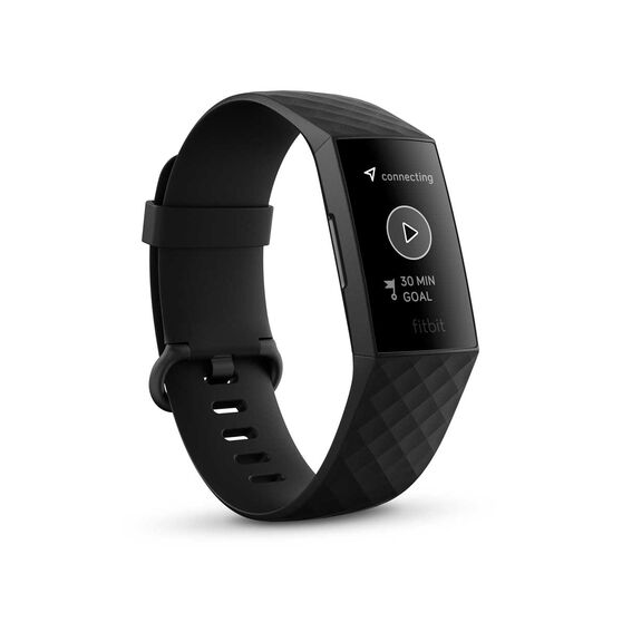 Fitbit Charge 4 Fitness Tracker Black, , rebel_hi-res