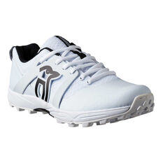 Kookaburra Pro 2000 Kids Rubber Cricket Shoes White US 3, White, rebel_hi-res