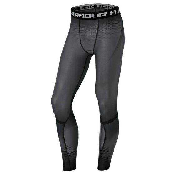 85d2aeb4af Under Armour Mens Charged Compression Leggings Grey S Adult, Grey,  rebel_hi-res