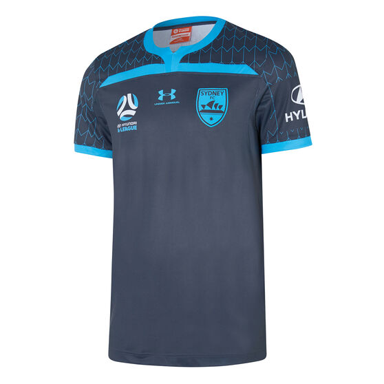 Sydney FC 2019/20 Youth Third Jersey, Navy, rebel_hi-res