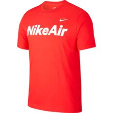 Nike Mens Sportswear Air Tee Red XS, Red, rebel_hi-res