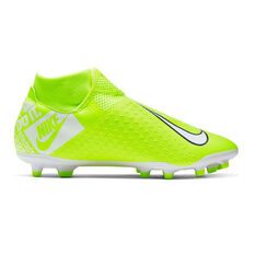 Nike Phantom Vision Academy Dynamic Fit Football Boots Green / White US Mens 7 / Womens 8.5, Green / White, rebel_hi-res