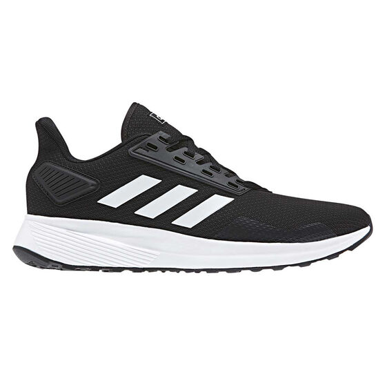 adidas Duramo 9 Mens Running Shoes Black US 8.5, Black, rebel_hi-res
