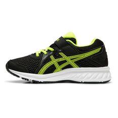 Asics Jolt 2 Kids Running Shoes Black / Yellow US 11, Black / Yellow, rebel_hi-res