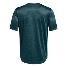Under Armour Mens Training Vent Tee Blue XS, Blue, rebel_hi-res