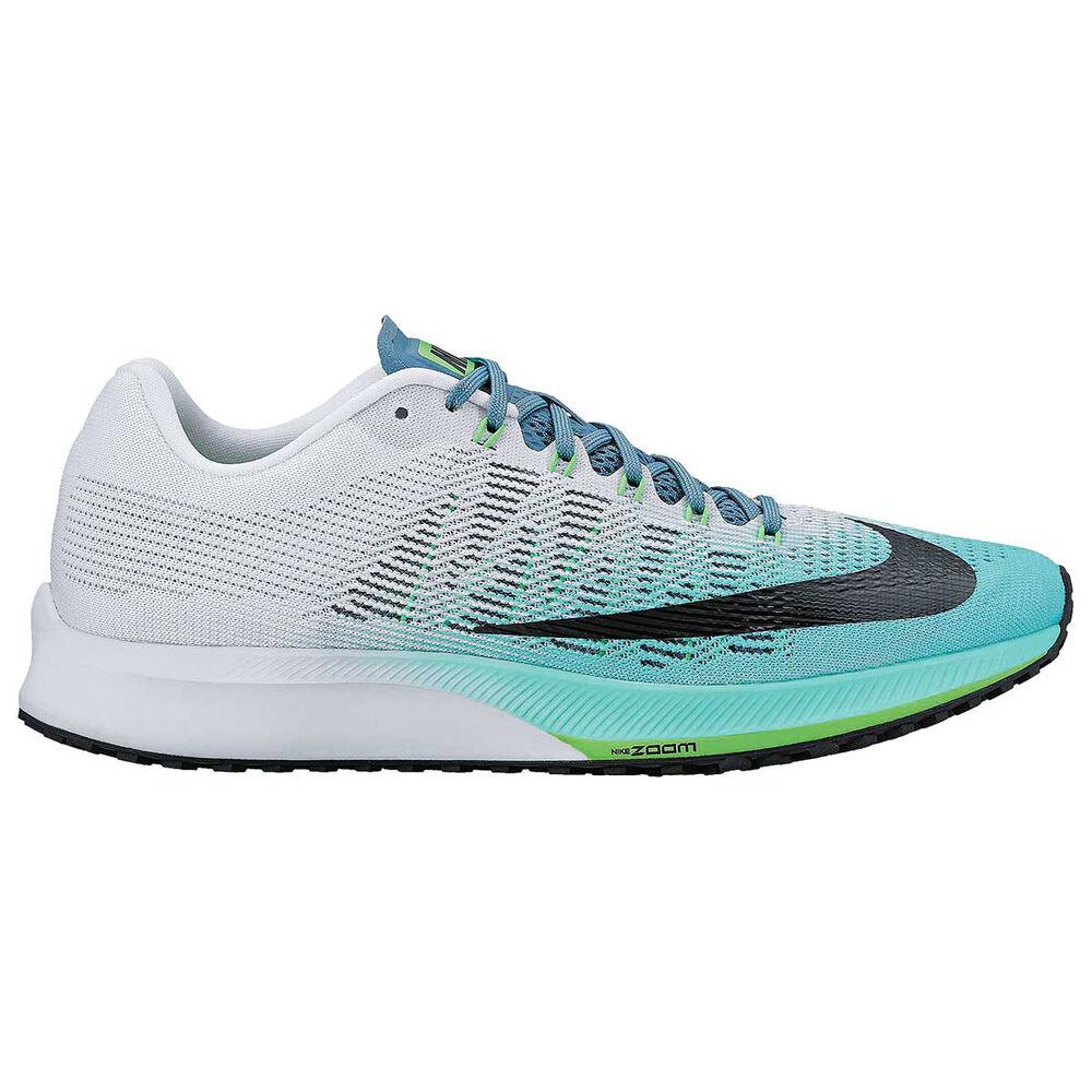c6ba0f313170 Nike Air Zoom Elite 9 Womens Running Shoes White   Green US 8.5 ...